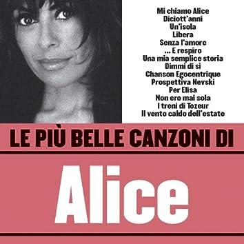 Le più belle canzoni di Alice