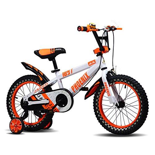 Bicicletas YANFEI Kids Bike 12 Pulgadas Niños y Niñas en Azul y...
