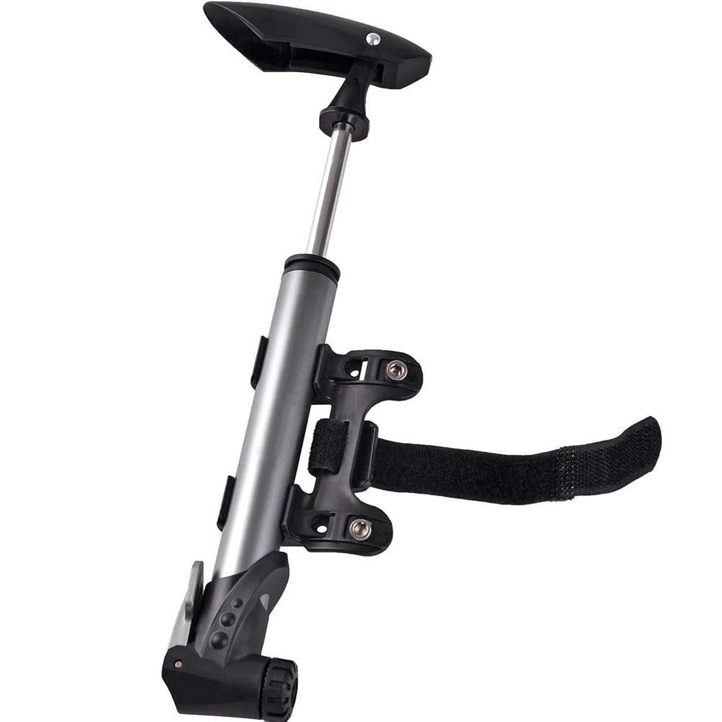 相対性理論ペストリーフィードバック高圧携帯用自転車ポンプ、アルミ合金の小型バイクの膨脹可能な用具、マウンテンバイクのために適した120PSI高圧、バスケットボール、サッカーボール