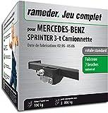 Rameder Pack attelage rotule Standard 2 Trous pour Mercedes-Benz Sprinter 3-t Camionnette + Faisceau électrique 7 Broches (143753-03906-1-FR)