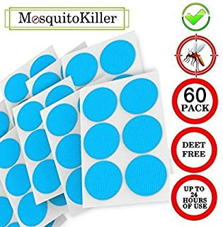 90Pcs Kids Natural Mosquito Repellent Patches Non-Toxic Long Lasting Protection