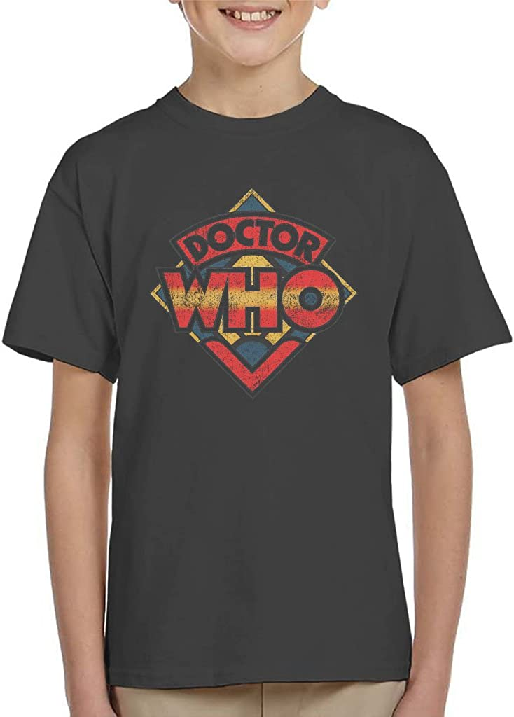Doctor Who 70s Logo Kid's T-Shirt