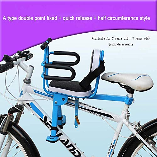 Bambino sede di Bicicletta Sella Boy Child Seat Bike Mountain Bike Folding Bike Recreational Vehicle sede di Sicurezza del Bambino Sedile in avanti Cycling Child Seats