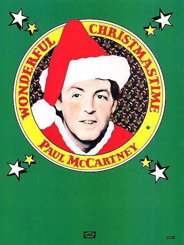 Paul McCartney: Wonderful Christmastime. Partitions pour Piano, Chant et Guitare