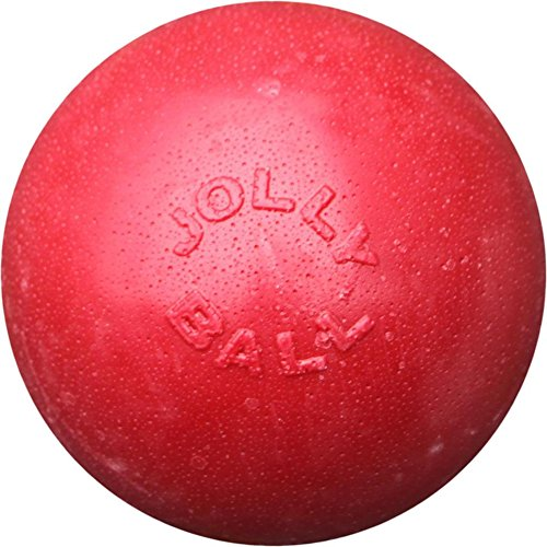 Jolly Pets Ball Bounce-n Play Jouet pour Chien Rouge 20 cm