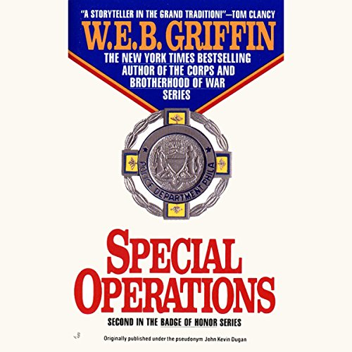 Special Operations audiobook cover art