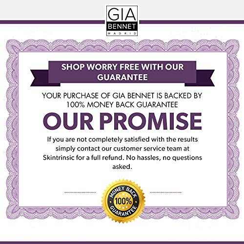 51+OY4wvOfL - GIA BENNET Premium Wrinkle Freezing Moisturizer for Firm Skin Structure, Day and Night Ultimate Luxury Revitalizing Cream- Age Defying Spa, 1oz / 30ml