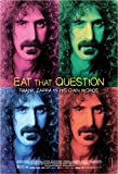 Eat That Question: Frank Zappa in His Own Words Movie