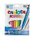 Carioca A53321012 - Pack de 12 rotuladores
