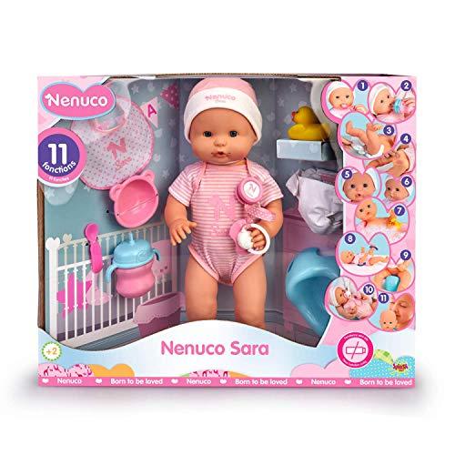 Famosa - Nenuco Sara, Bambola Educativa, 700015154