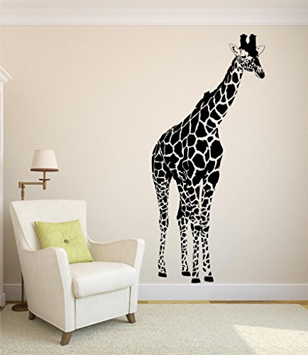 Detailed Giraffe Vinyl PURCHASE Decals