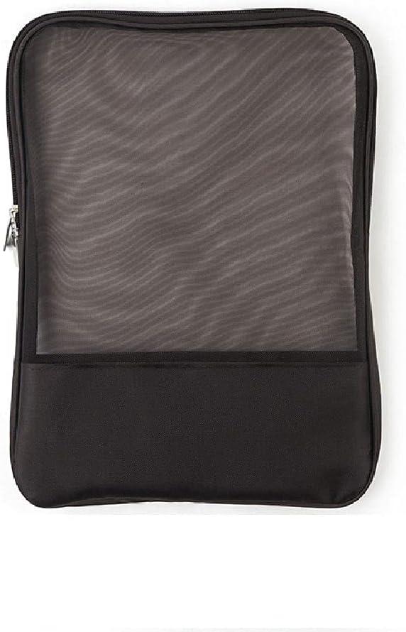 Folders Handbags Max Quality inspection 49% OFF Mesh File Pocket A4 Lar Bag Transparent Tote