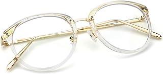 869b455406 Mimoeye - anteojos de filtro de luz azul, diseño clásico, lentes redondas,  para