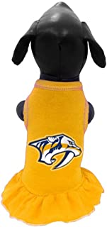 All Star Dogs NHL Unisex NHL Nashville Predators Dog Cheerleader Dress