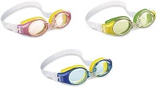 Intex 55601.0 Gafas de Natación, Unisex niños, Verde, Talla Única