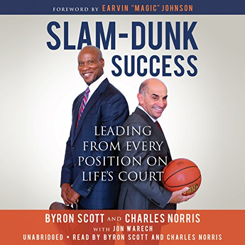 Slam-Dunk Success audiobook cover art