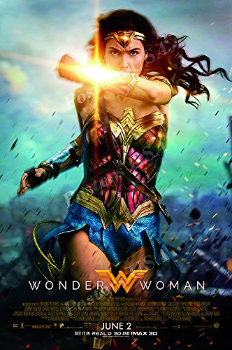 Posters USA - DC Wonder Woman GLOSSY FINISH Movie Poster - FIL515 (24' x 36' (61cm x 91.5cm))