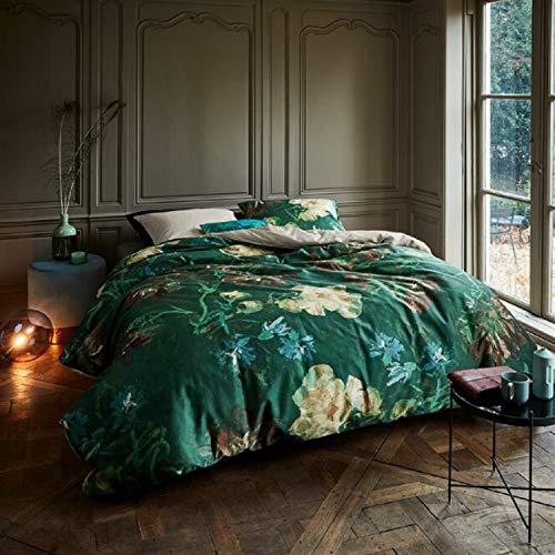 Beddinghouse Bettwäsche Van Gogh | Peonies Green - 155 x 220 cm