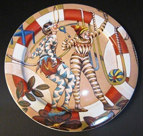 Bopla! FANTASTICO Porzellan Serie Nostalgie Grosser Teller 27 cm Large Plate 10 5/8 in. Assiette Grande 27 cm Piatto Grande 27 cm