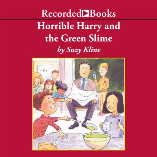 Horrible Harry and the Green Slime audiobook cover art