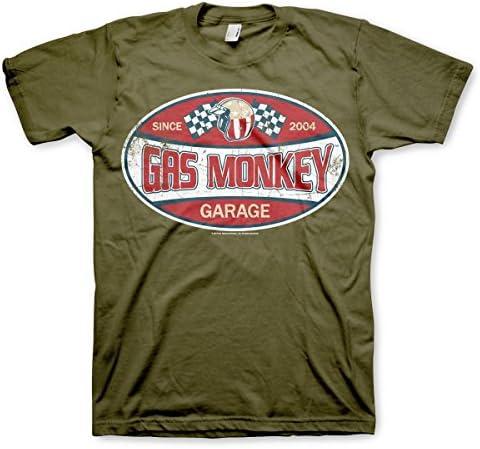 Oficialmente Licenciado GMG Since 2004 Label Hombre Camiseta