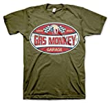 GMG Since 2004 Label Official T-Shirt (Olive), X-Large