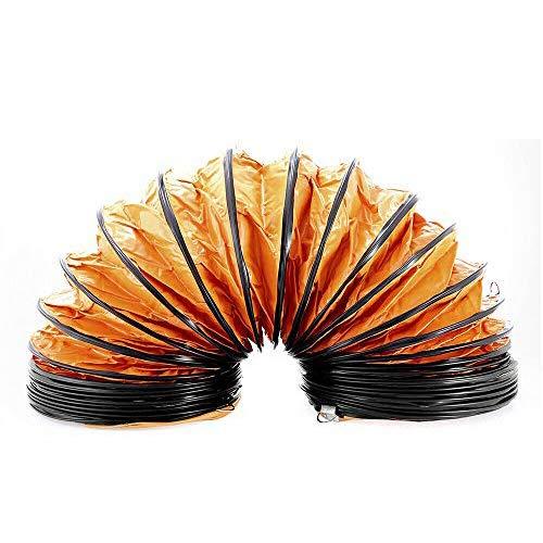 Luftschlauch Abluftschlauch Abluftschlauch Ventilatorschlauch 300mm x 10m für Industrielüfter Ventilator Abluftschlauch Heavy Duty