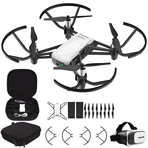 DJI Tello Quadcopter Beginner Drone VR HD Video Bundle with Tello Spare Battery,...