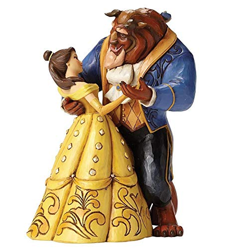 Enesco Disney Traditions Beauty and The Beast Waltz Statue