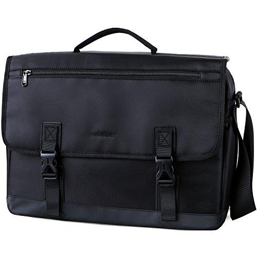 Messenger Bag For Men,Water Resistant Lightweight 15in Laptop Bag Business Briefcase