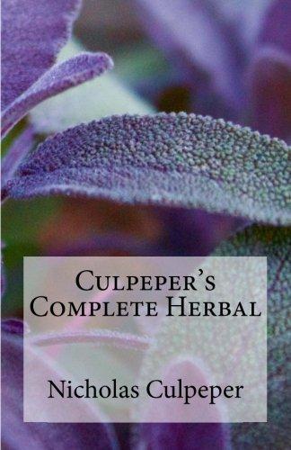 Culpepers Complete Herbal