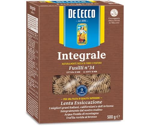 De Cecco Pasta Integrale Fusilli - 500 g