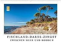 Fischland - Darss - Zingst: Zwischen Meer und Bodden (Wandkalender 2022 DIN A2 quer): Eine urspruengliche Landschaft zwischen rauer See und stillem Bodden, geformt von Wind und Wellen. (Monatskalender, 14 Seiten )
