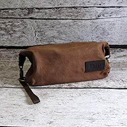 Personalized Mens Travel Bag - Shaving Kit- Monogrammed Dopp Kit- Toiletry  Bag - Groomsmen Gift - Gifts for Men - Fathers Day 62cc81d651280