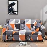Fundas de sofá elásticas para Sala de Estar Funda elástica Funda de sofá seccional Funda de sillón en Forma de L A27 4 plazas