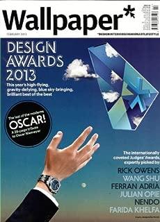 Wallpaper Magazine (February, 2013) Design Awards 2013