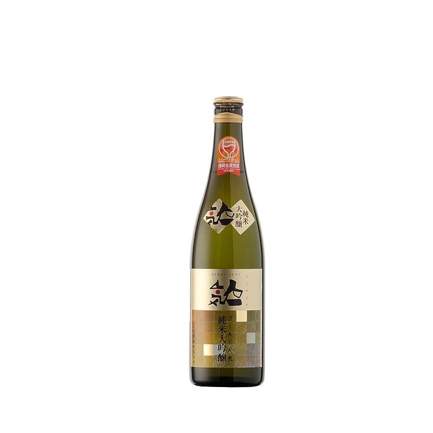 表現執着頻繁に人気酒造 ゴールド人気 純米大吟醸 [ 日本酒 福島県 720ml ]