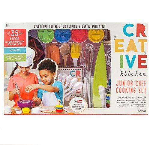 CrEATive Kitchen Junior Chef Set Multicolored, 22'x14'x3.5'