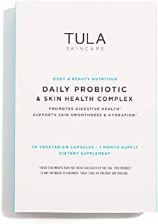 TULA Probiotic Skincare Daily Probiotic & Skin Health Complex | Women's Daily Probiotic, Digestive & Skin Health Supplemen...