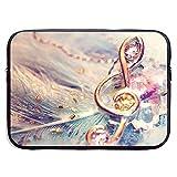 Custodia per laptop Custodia in metallo Note musicali Ornamenti Borsa per...