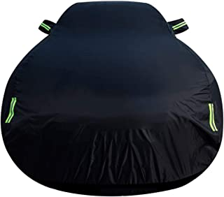 Car cover Full Car Cover Compatible with Ford Focus All Weather Vehicle Cover Outdoor Waterproof Auto Cover Protection for Dust Rain Snow UV Auto Protector Automobile Car Cloth Car Shelters Sun Protec