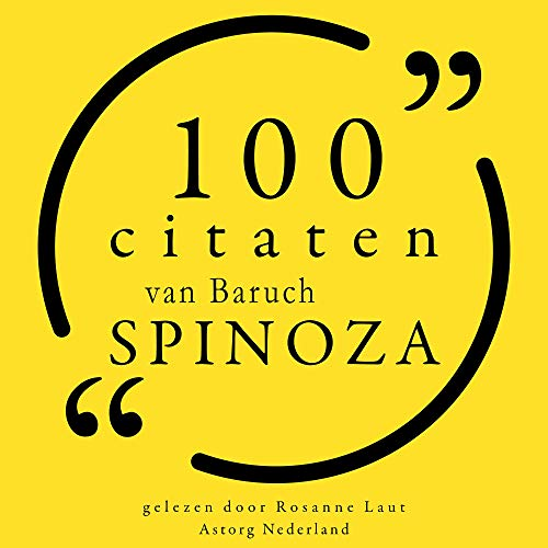 100 citaten van Baruch Spinoza cover art