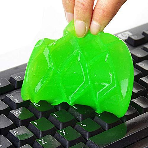 Myhonour Tastatur Reinigung Tastaturreiniger Staub/Schmutz-Entferner für Gitarre, Tastatur, Computer, Auto, Laptop, Cyber Putty Super Silikagel, Gummi-Staub-Reiniger (Zufällige Farbe)