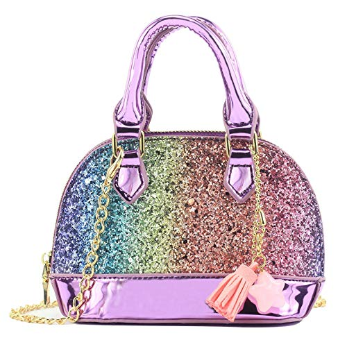 mibasies Glitter Toddler Purse for …