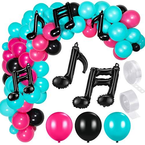 Music Balloon Birthday Balloon Garland Kit