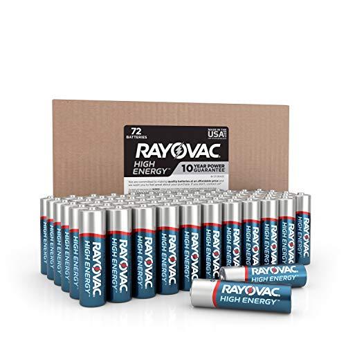 Rayovac AA Batteries (72 count)