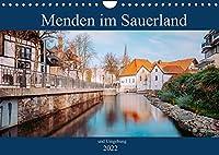 Menden im Sauerland und Umgebung (Wandkalender 2022 DIN A4 quer): Fotografien von Menden im Sauerland (Monatskalender, 14 Seiten )