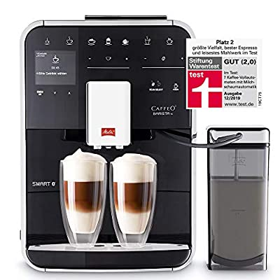 Melitta F85/0-102 Barista TS Smart, Stainless Steel, 1450 W, 1.8 liters, Black