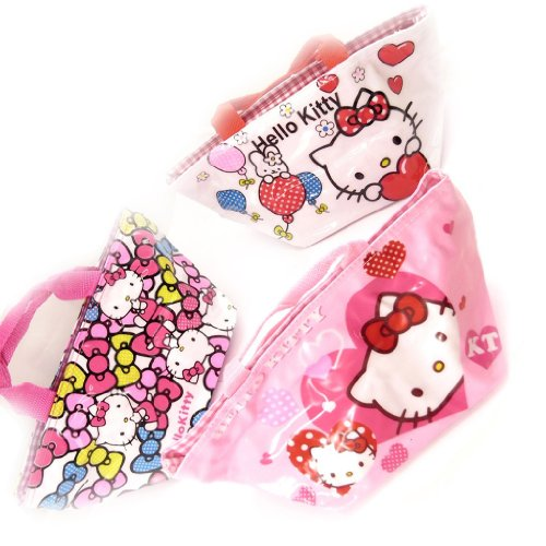 Hello Kitty [K8312-3 sacs shopping rose
