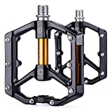 CXWXC Road/MTB Bike Pedals - Aluminum Alloy Bicycle Pedals - Mountain...
